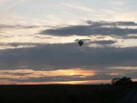 Vol en ballon de nuit