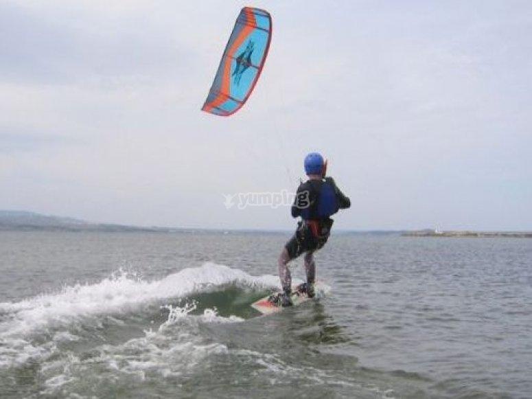 Kitesurf en autonomie