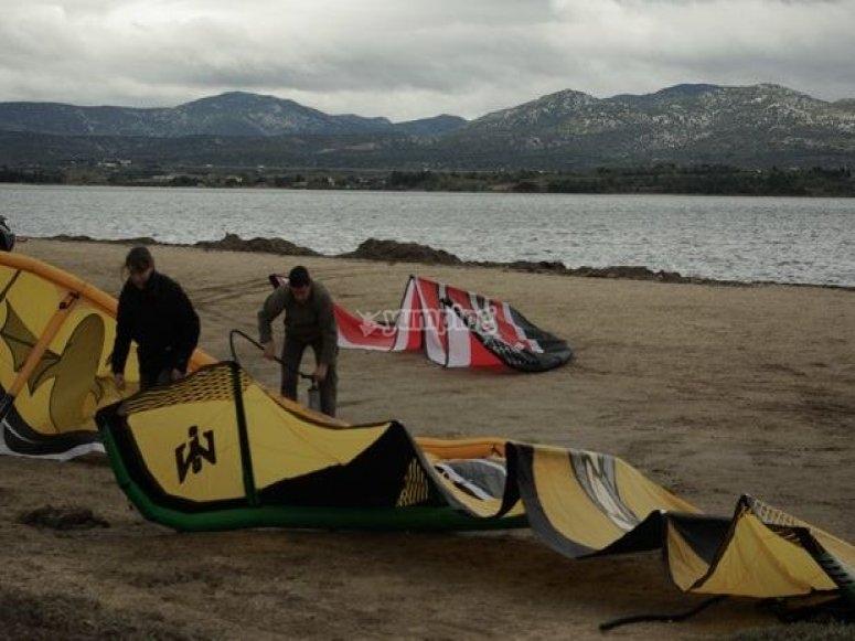Louer un kitesurf