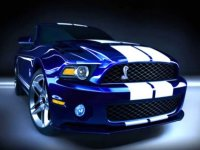 Mustang Shelby a Folembray ou Clastres