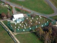 Vue aérienne du centre