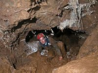 Visite des cavites en speleologie