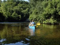 Balade canoe en famille