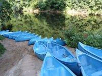 Les canoes du centre des 3 Drapeaux