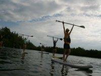 paddle surf sur la Dordogne
