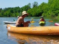 Canoe avec le club