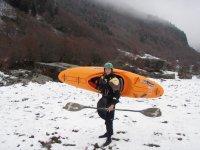 Kayak ete comme hiver avec Sports Eaux Vives 64