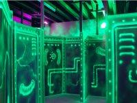 zone de planque du laser game