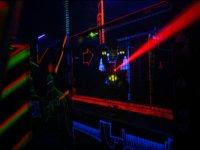 Joueur de laser game