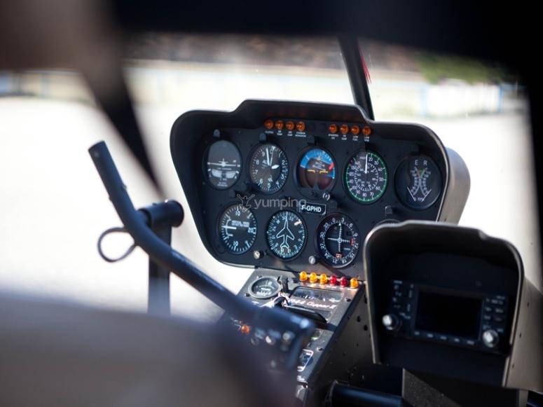 R44 Baptême de l'air en hélicoptère