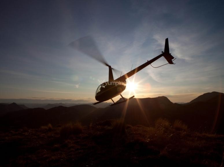 vol en hélicotère en paca