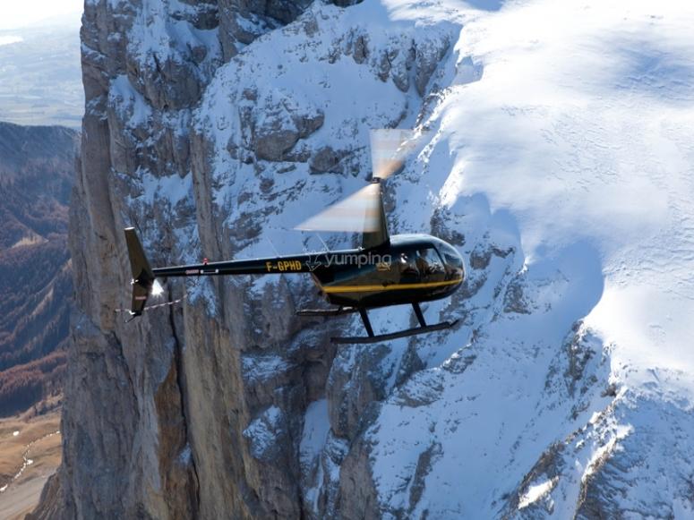 Découverte des hautes alpes en hélicoptère