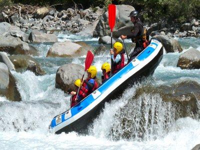 Rafting/canoraft - Une journée sur l'Ubaye