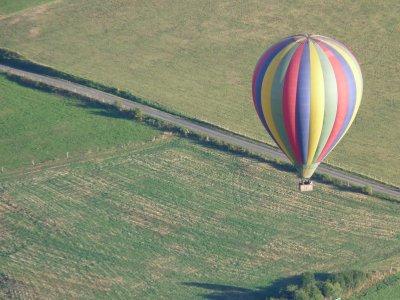 Saône et Loire en montgolfière (Enfant)
