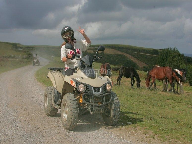 Pays basque en quad