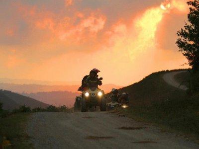 Rando quad Monoplace - Apero Tapas au Sunset