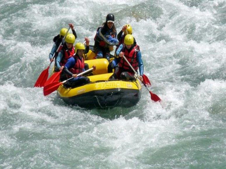 Rafting cool avec Aqua'rider Rafting