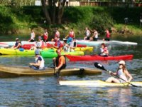 Canoe kayak dans le 25
