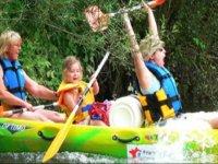 Canoe en famille sur l Ain