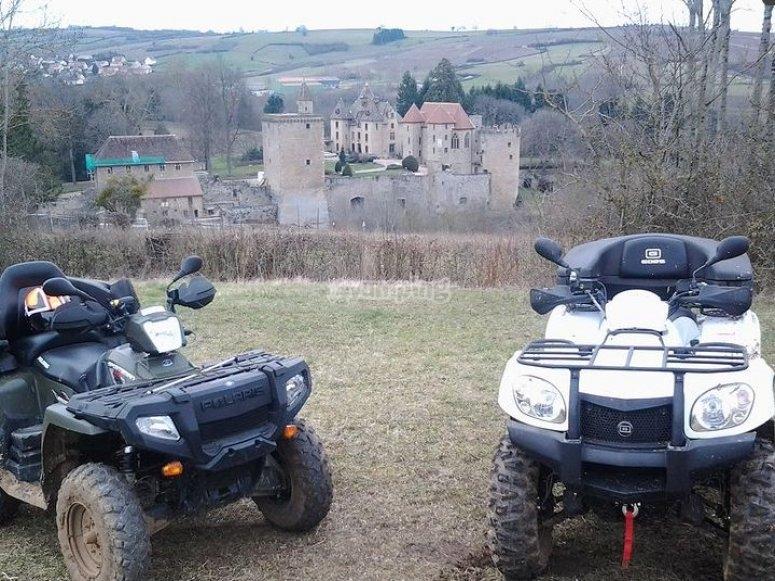 Initiation au quad en Saône et Loire