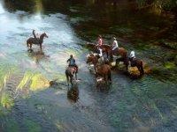 Sortie a cheval avec la Cavalerie du Moulin