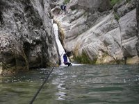 Canyoning dans les Pyrenees Orientales