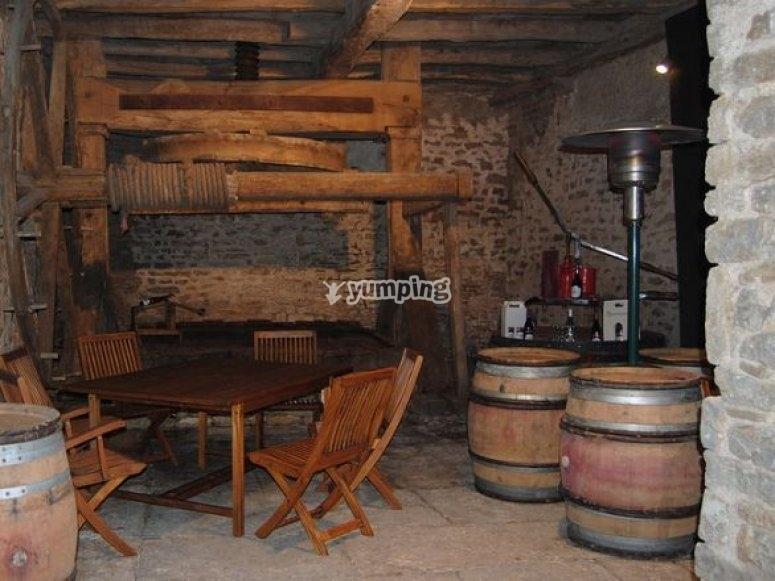 Accueil dans un Domaine viticole