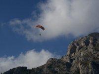 Vol au dessus des roches