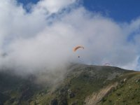 Vol de montagne en parapente