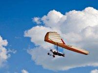 deltaplane dans les airs