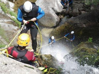 Canyon des cascades d'Orgon