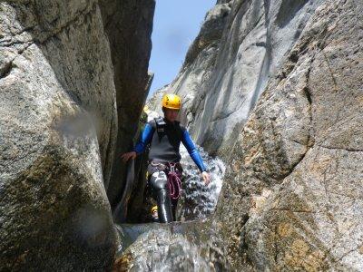 Canyon du Tapoul dans les Cévennes