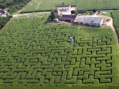 Labyrinthe de l'Ermite à Domme