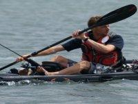 peche en kayak de mer avec Breti Kiteschool Peche