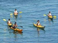 Randonnee en kayak de mer avec Breti Kiteschool Kayak