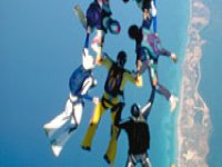 Stages de parachutisme partout en France