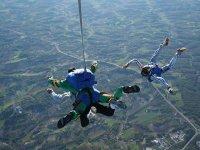 Parachutisme dans le Lot