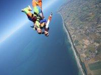 Saut en parachute Honfleur