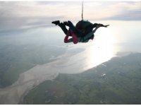 Saut en parachute Mont St Michel
