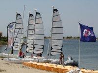 Naviguez en catamaran avec le Cercle de Voile du Cap Leucate