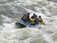 Rafting dans le Morvan