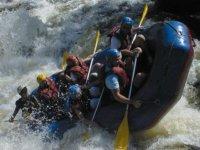 Rafting sur le Chalaux ou la Cure