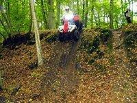 Parcours adrenaline en quad