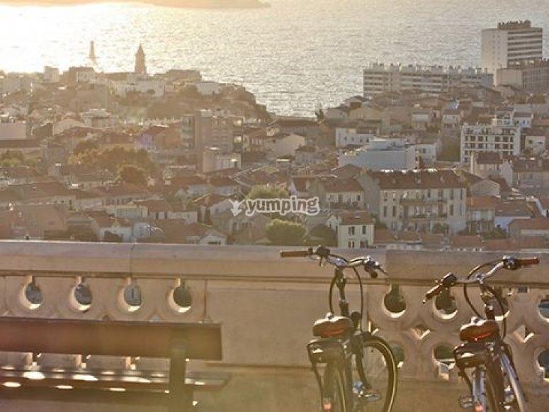 Visite originale Marseille
