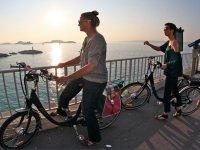 Bord de mer de Marseille en Velo Electrique