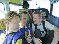 Avant le saut en parachute