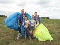 Parachutisme pour les plus petits avec Auvergne Parachutisme