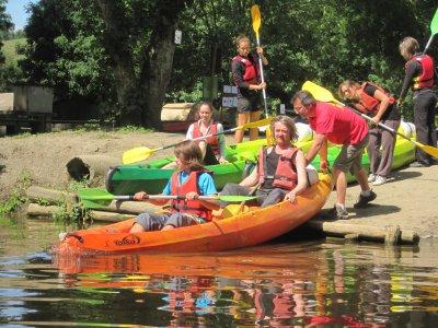 Enterrement Vie de garçon en Kayak - Calvados