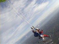 Ouverture du parachute tandem