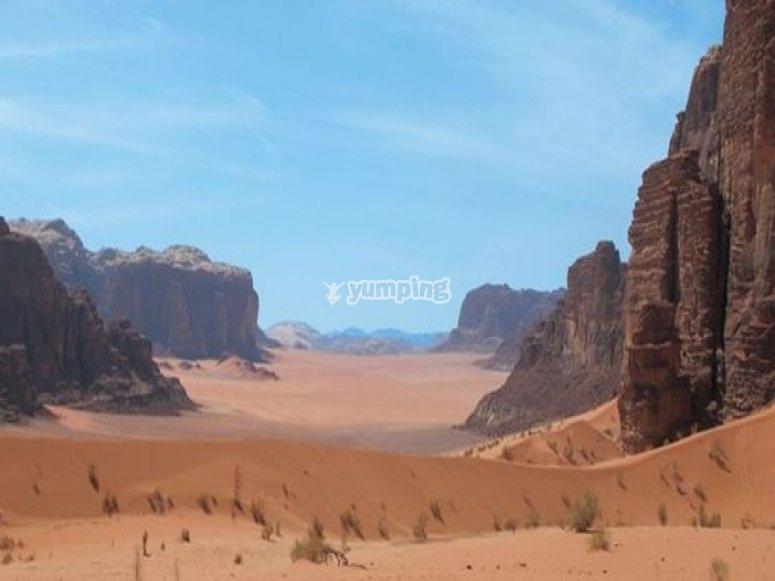 Paysages de Jordanie
